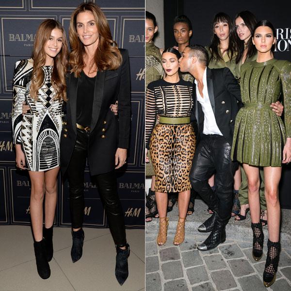 Kaia Gerber and Kendall Jenner