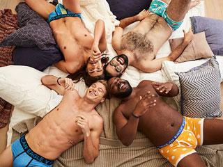 Aerie's New Underwear Line for Men Stars Unretouched Average Joe Models