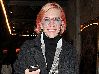 Cate Blanchett Dyes Her Hair an Easter Egg Shade of Pastel Pink (Yes, We're Serious!)