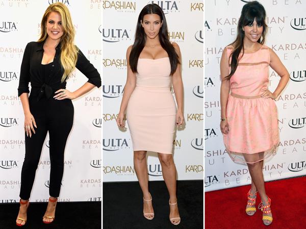 Khloé, Kim, Kourtney Kardashian