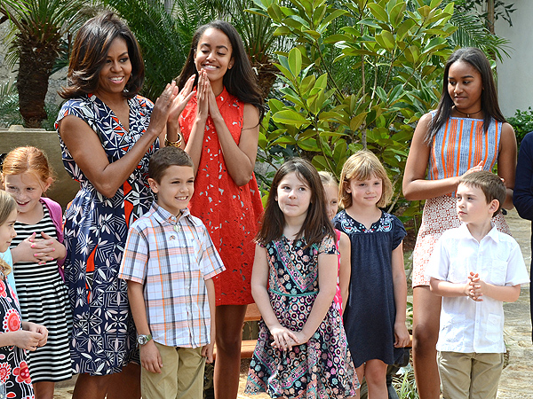 sasha and malia obama cuba outfits