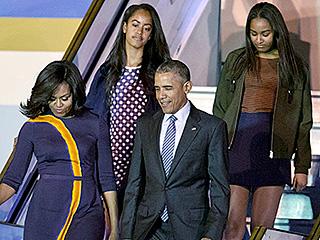Sasha and Malia Obama's Spring Break Style Streak Continues to be [Insert 100 Emoji Here]