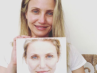 Cameron Diaz Isn't Afraid of Aging (And She Just Proved it With A Bare-Faced Selfie)