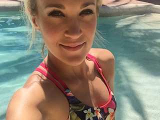 Carrie Underwood Wows in a Bikini as She Launches 'Adorable and Athletic' Swimwear Line