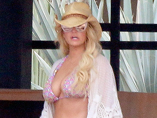 Jessica Simpson Breaks Out Her Trusty Daisy Dukes (and a Tiny Bikini Top) for Mexico Getaway