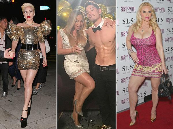 Lady Gaga birthday dress