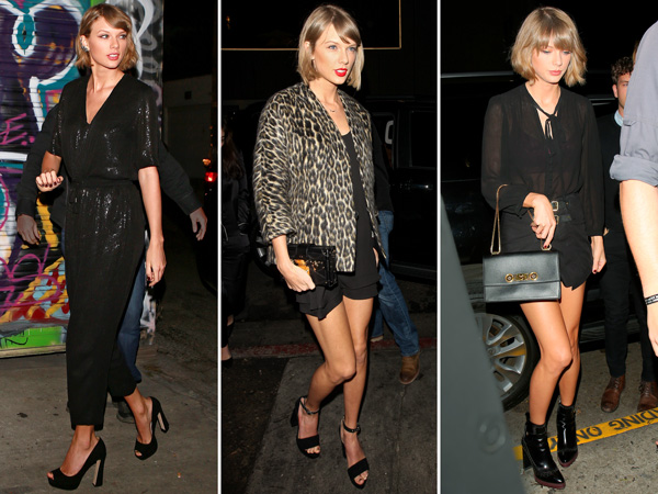 Taylor Swift sexy weekend style
