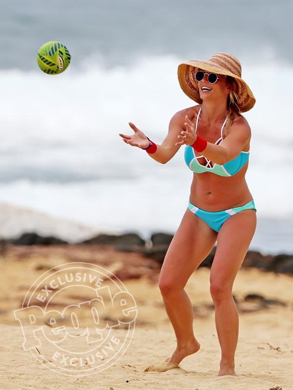 Britney Spears sporty bikinis