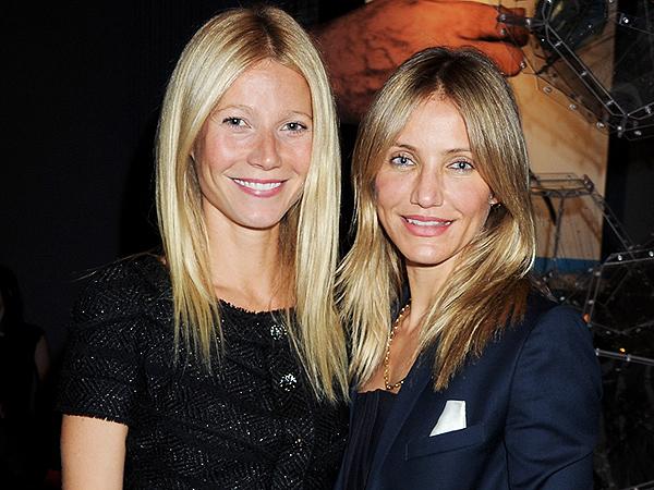 Cameron Diaz and Gwyneth Paltrow beauty tips for Gwyneth Paltrow