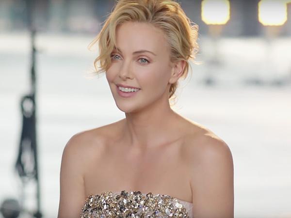 Charlize Theron Dior J'adore ad campaign