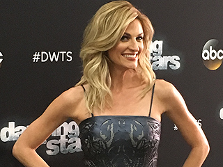 Erin Andrews' DWTS Blog: Exactly What Happens When Your Dress Doesn't Fit With 10 Minutes to Air