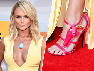 Don't Let Miranda Lambert's Cleavage Distract You from Her $829 Gun and Holster Shoes