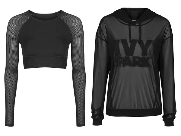 Beyonce Ivy Park Collection Topshop Clothes