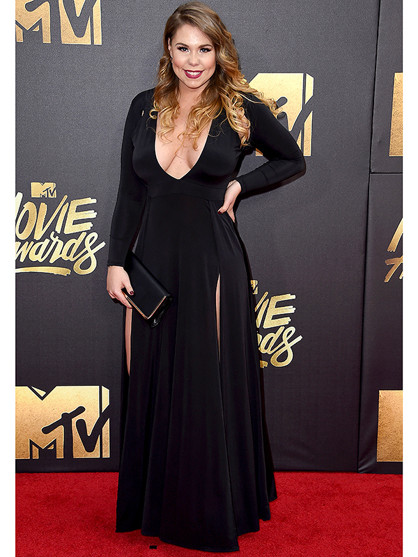 Teen Mom's Kailyn Lowry at MTV Movie Awards Months After Plastic Surgery