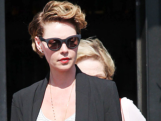 Who's That Girl? Katherine Heigl Is Almost Unrecognizable with Cropped Brunette Do