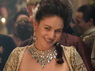 First Photos: See Outlander's Infamous Swan Nipple Piercing Gown (It's More Outrageous Than You Think!)