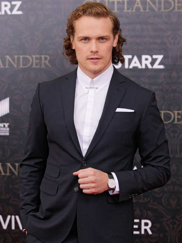 Outlander star Sam Heughan style and grooming tips