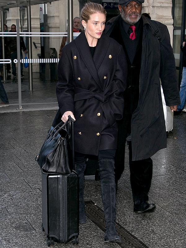 Rosie Huntington-Whiteley Travel Style