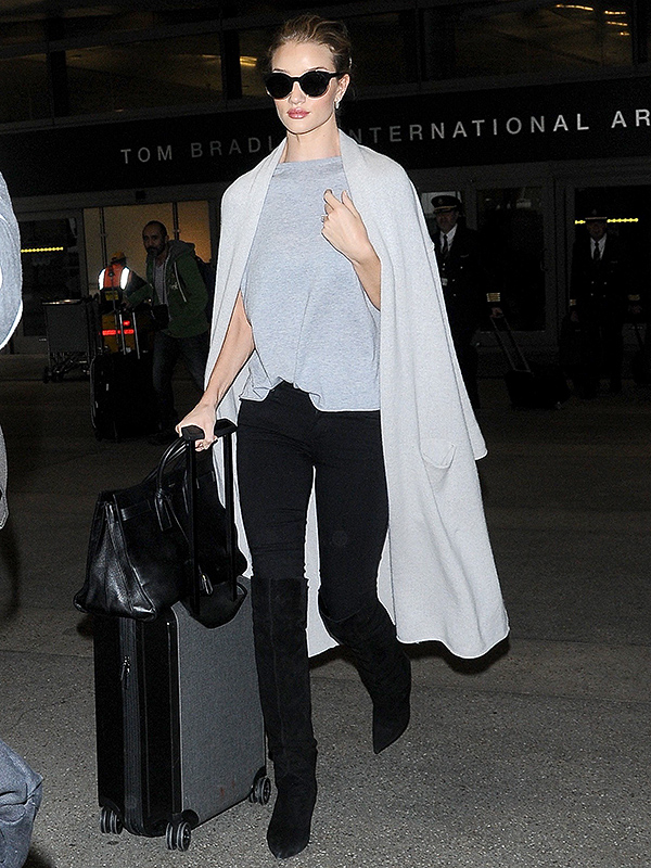 Rosie Huntington-Whiteley Travel Style