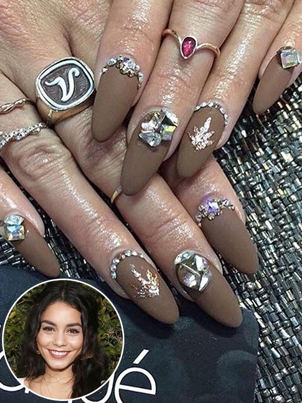 Vanessa Hudgens Coachella Manicure