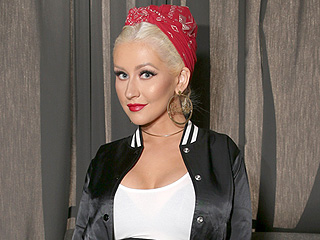 Christina Aguilera Puts a Sexy Twist on Athleisure in Rare Public Outing for The Voice