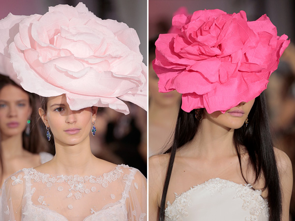 Bridal fashion week headpieces Ines di Santo 2016