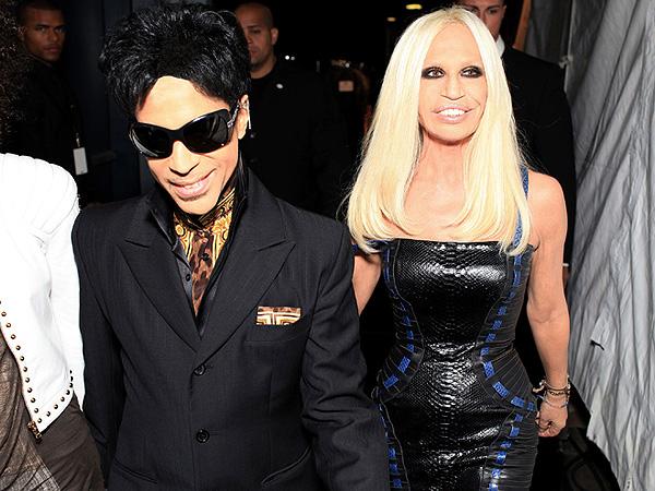 Donatella Versace pays tribute to Prince
