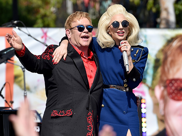 Lady Gaga and Elton John Macy's clothing line