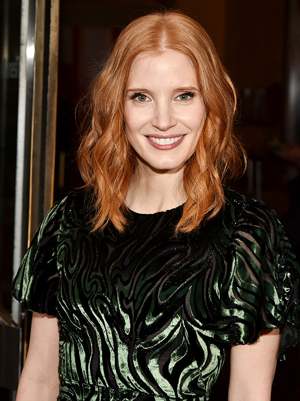 Jessica Chastain beauty look of the week