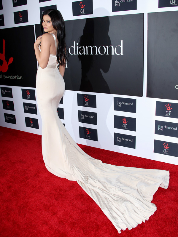Kylie Jenner diamond ball