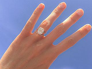 Carat Queen! Model Nicole Trunfio Shows Off Her Dazzling Diamond Wedding Band from Husband Gary Clark Jr.