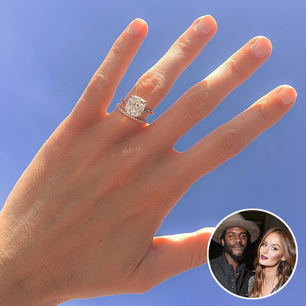 Model Nicole Trunfio Shows Off Gorgeous Wedding Band from Husband Gary Clark Jr.