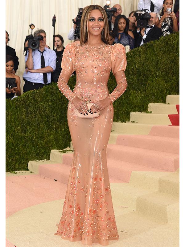 Beyonce Met Gala style 2016