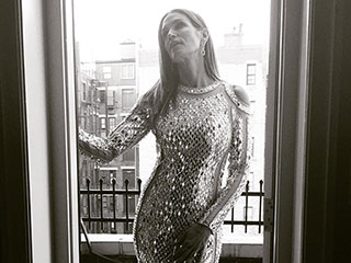 Met Vet! Cindy Crawford Brings Show-Stopping Supermodel Glamour to the Met Gala in Sexy Silver Gown