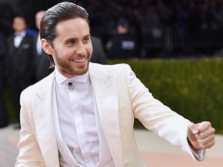 Jared Leto Knows He's an Anti-Aging Wizard: 'Amazing What a Little Human Blood Will Do'