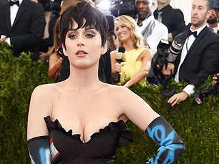 "Katy Perry Feels Pressure Dressing for the Met Gala: 'I'm Sure Lady Gaga Is Going to Arrive on a Drone, and I'll Be Like, ""S---!'''"