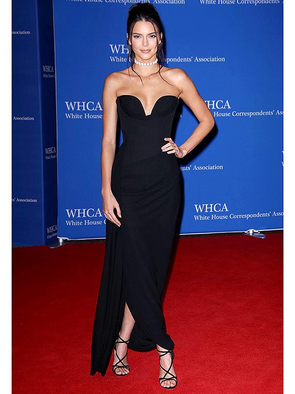 Kendall Jenner at the White House Correspondents' Dinner