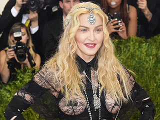 See Madonna's Cheeky Met Gala Look from the Front and the Back