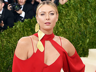 Go Behind the Scenes As Maria Sharapova Gets Ready for the Met Gala!