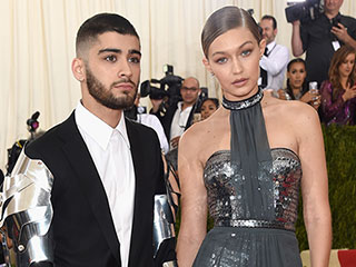 Knight in Shining Armor! Zayn Malik and Gigi Hadid Make Their Red Carpet Debut at the Met Gala