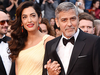 Amal Clooney Proves She's a Red Carpet Pro as She Avoids Wardrobe Malfunction in Glam Cannes Debut