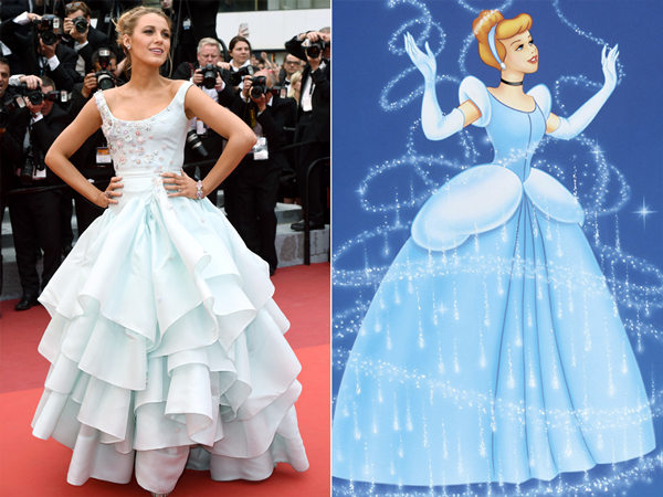 Cannes 2016: Blake Lively Channels Cinderella in Blue Ball Gown – Style News - StyleWatch - People.com