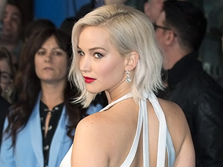 Whoops, She Did It Again! Jennifer Lawrence Stumbles at X-Men: Apocalypse Premiere in One Super-Sexy Gown