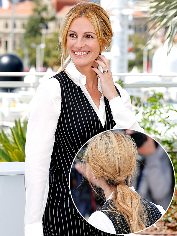 Exclusive: Julia Roberts' Beauty Squad Spills on Her Glam Cannes Looks – Style News - StyleWatch - People.com