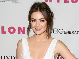 Lucy Hale Serves Up Some Serious Wedding Hair Inspo with Her Latest Red Carpet Updo