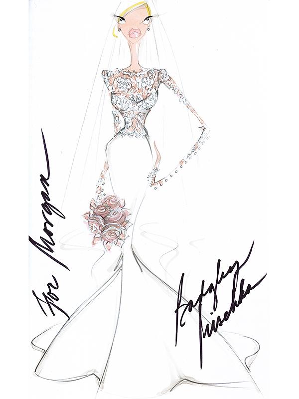 style rich kids beverly hills star morgan stewarts piece wedding dress accident find details