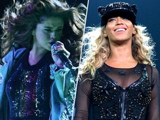 Selena Gomez's Revival Tour Ensembles Are Giving Us Major Beyoncé Vibes