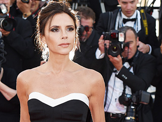 Victoria Beckham Brought Her Posh Spice Strut to Cannes