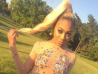 You Have to See This High School Student's Handmade, Beyoncé-Inspired Prom Dress