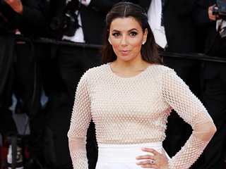 All About Eva Longoria's 'Angelic' Cannes Look, Straight From Her Stylist